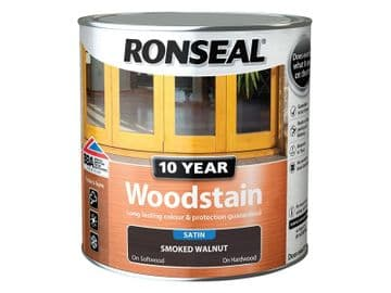 10 Year Woodstain Smoked Walnut 2.5 litre
